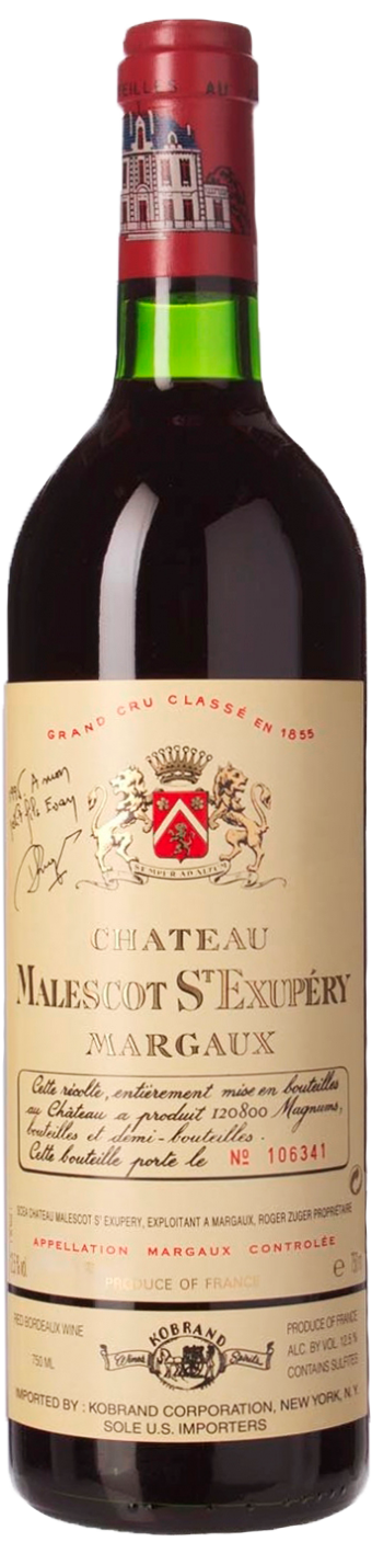 Chateau Malescot-St-Exupery, 1996