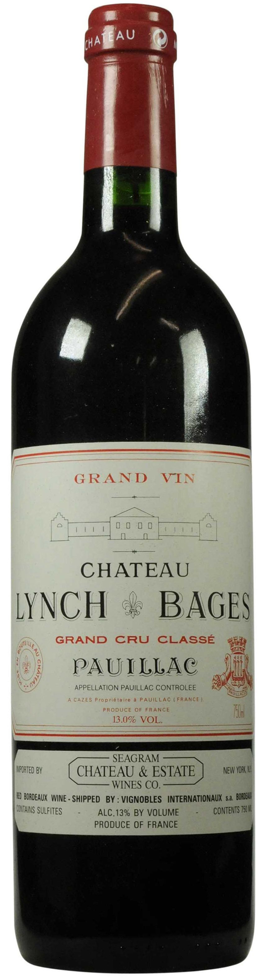 Chateau Lynch-Bages, 1995