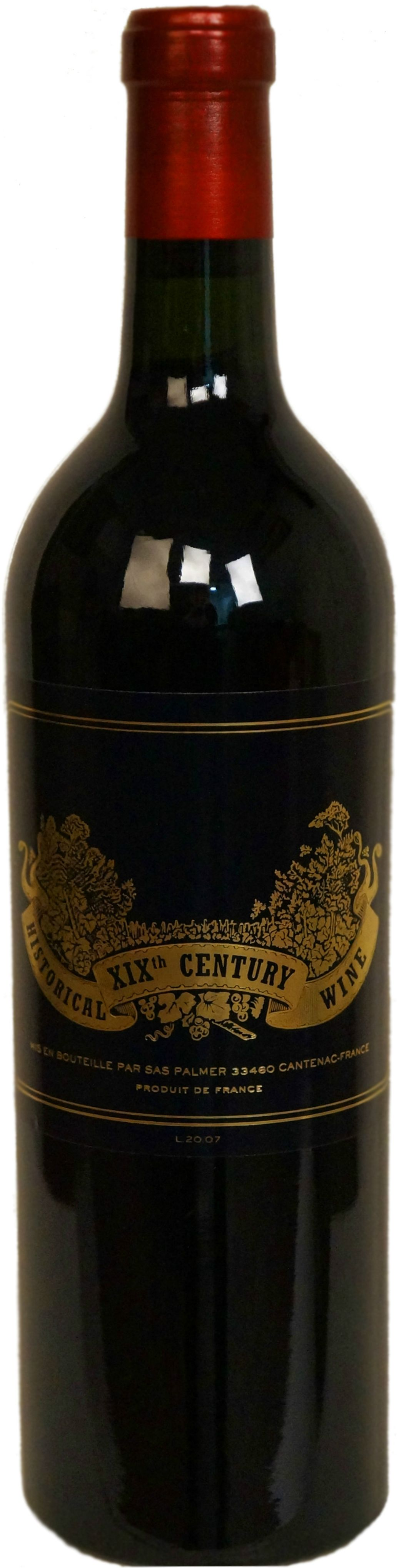 Chateau Palmer, Historical Wine XIX Century