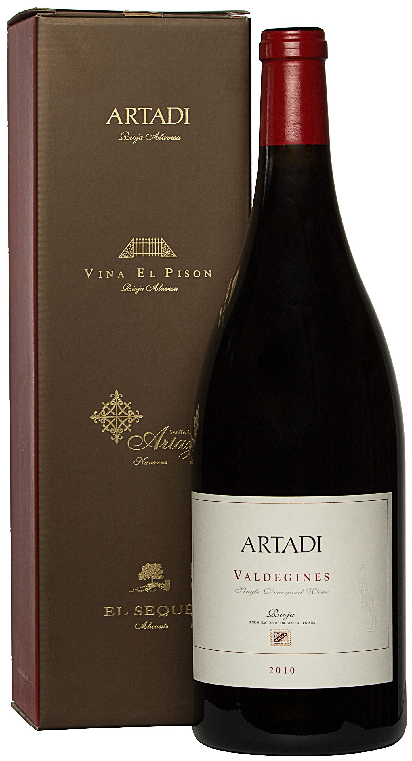 Artadi, Valdegines, 2010