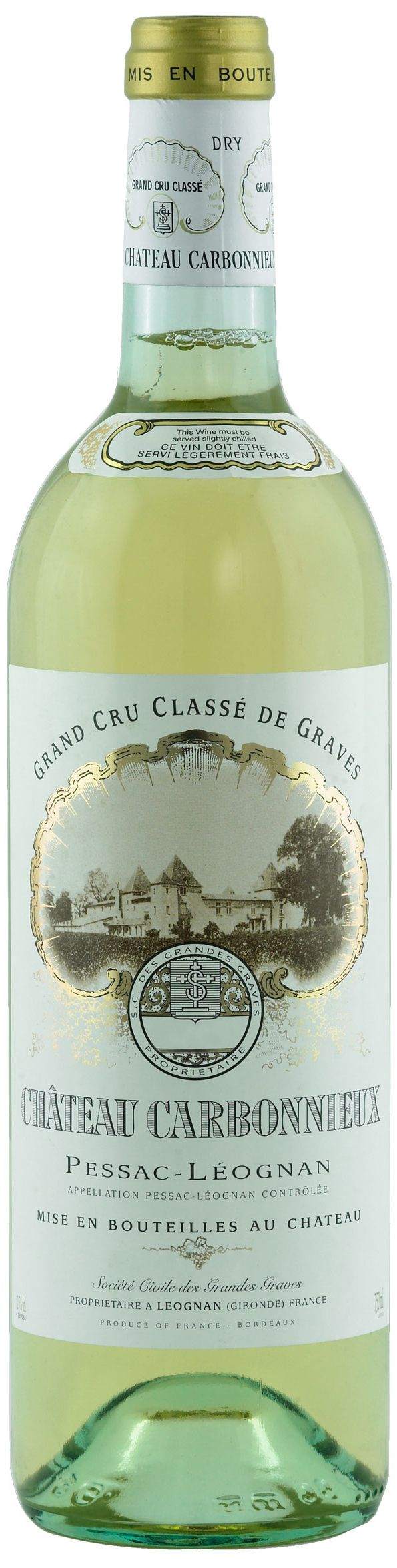 Chateau Carbonnieux, Grand Cru Classe, 2005