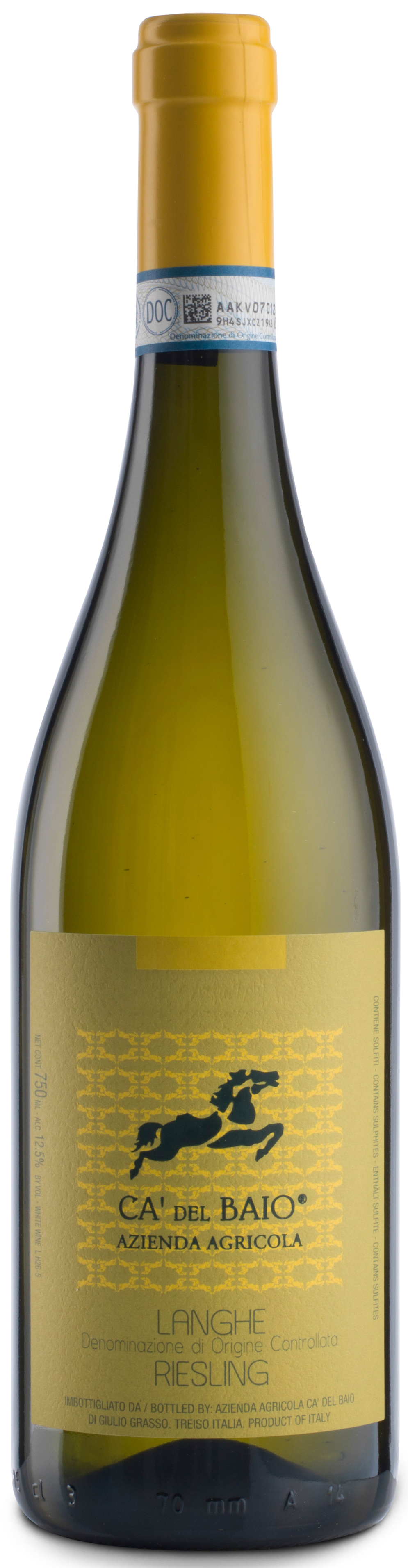 Ca' Del Baio, Langhe Riesling, 2017