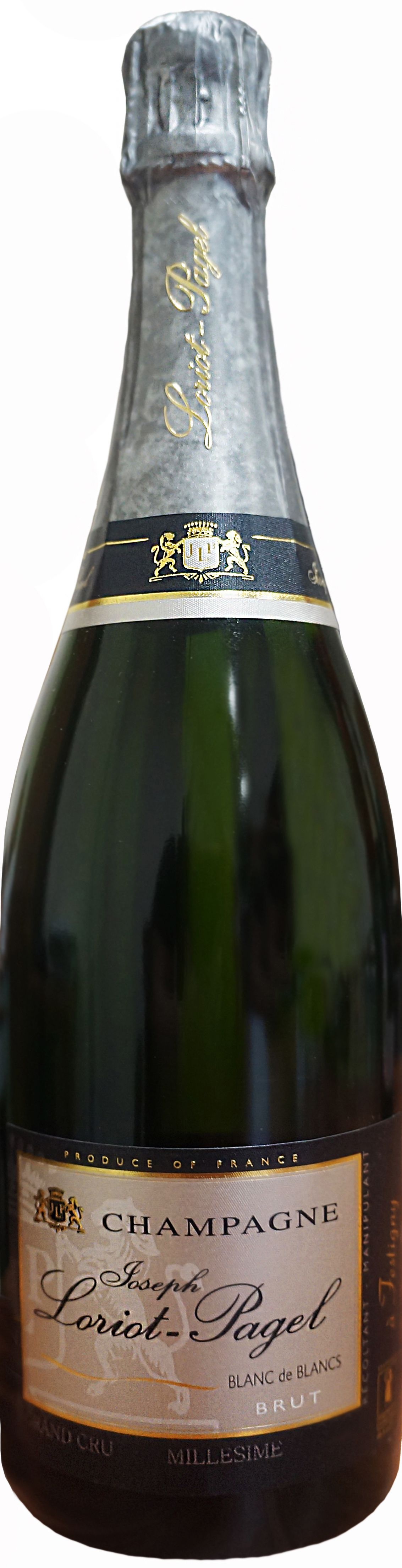 Loriot-Pagel, Blanc De Blancs Brut Grand Cru, 2010