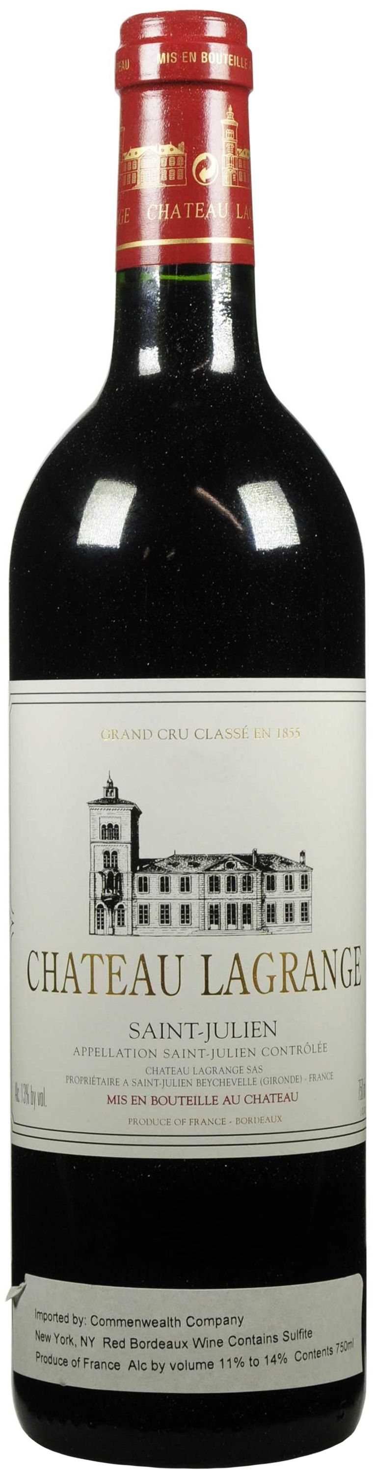 Chateau Lagrange, Grand Cru Classe, 1996