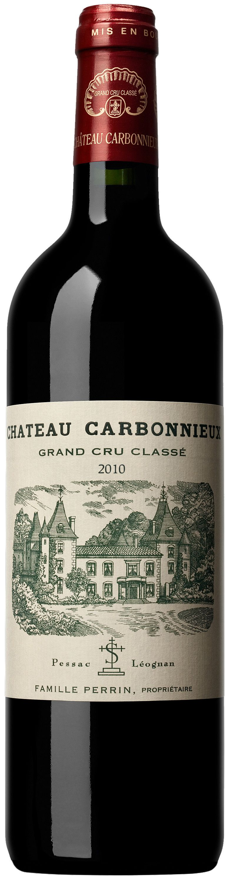 Chateau Carbonnieux, Grand Cru Classe Rouge, 2010