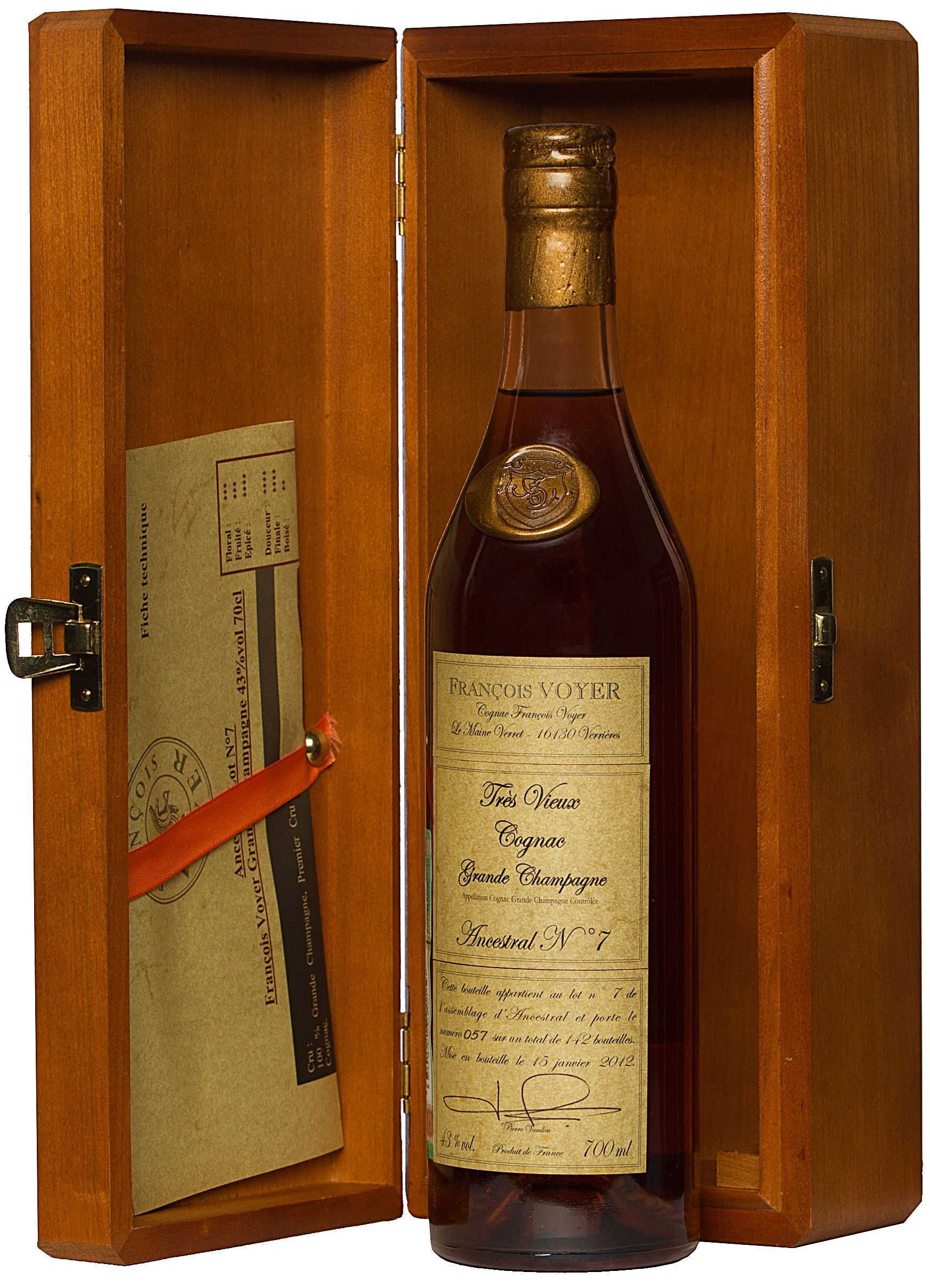 Francois Voyer, Cognac Ancestral Lot №7 (Gift Box)
