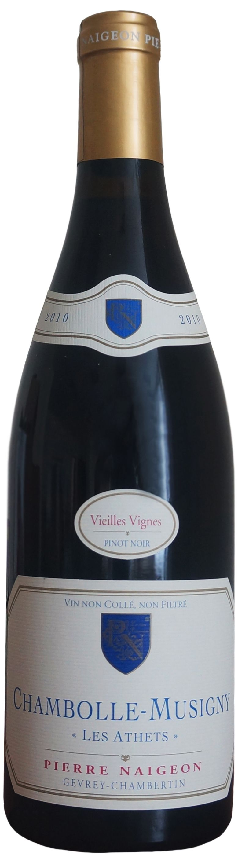 Pierre Naigeon, Chambolle-Musigny Les Athets Vieilles Vignes, 2010