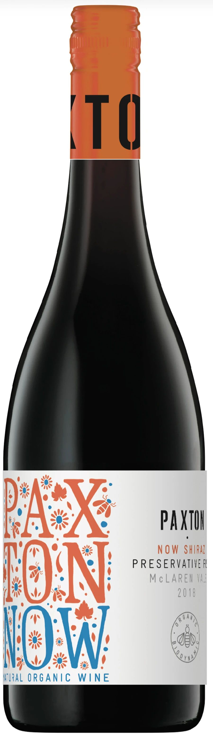 Paxton, Now By Paxton Shiraz, 2018